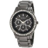 XOXO Women's XO5333  Gun-metal Bracelet With Rhinestones Accent Watch (Watch)By XOXO