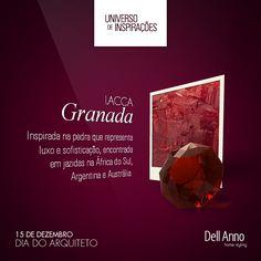 Encontrada em rochas vulcânicas, a cor desta pedra exótica traz um sopro de cor e sofisticação para os ambientes decorados com a lacca Dell Anno Granada.