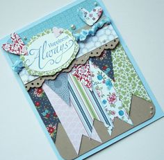 Happiness Always Just Because Card Stampin Up by bitsofme on Etsy, $4.50
