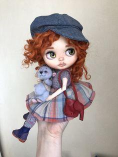 Doll SOLD ооак custom blythe doll by Darya by DaryaJavnerikDolls