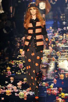 Le look Sonia Rykiel par Karl Lagerfeld pour Chanel