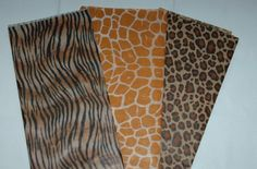 For making hanging pom poms!    Wild Animal Print Tissue Paper by EverydayaHoliday on Etsy, $6.00