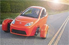 I WANT!!!  The Elio. The three-wheeled wonder of personal travel and authenticity at its finest. A revolutionary new approach in transportation enginee...