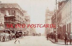 South Africa - JOHANNESBURG, Commissioner Street, Real Photo by Sapsco. | eBay