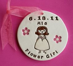 So cute for Thank You gift for Flower Girl
