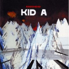 Kid A is the fourth album by rock band Radiohead. Released in the October of this album summarizes the distinct sound that makes up Radiohead. Radiohead Kid A, Radiohead Albums, Music Albums, Radiohead Poster, Music Covers, Album Covers, Lps, Lp Vinyl, Vinyl Records