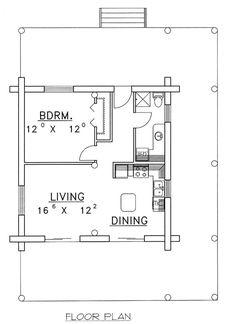 20'x20' apt. floor plan | Floor Plan 20 X 20 Zoe Outdoors Portable 2-Bedroom Cottage
