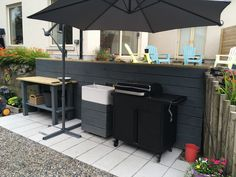 Garden On A Hill, Outdoor Furniture, Outdoor Decor, Outdoor Storage, Home Decor, Decoration Home, Room Decor, Home Interior Design, Backyard Furniture