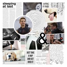 """you have heart // clint barton // hawkeye"" by iitselizabeth ❤ liked on Polyvore featuring art and thefcb"