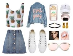 Imma Grown Up Style by ranilukman on Polyvore featuring polyvore, fashion, style, High Heels Suicide, Anita & Green, Converse, Casetify, Burberry and clothing