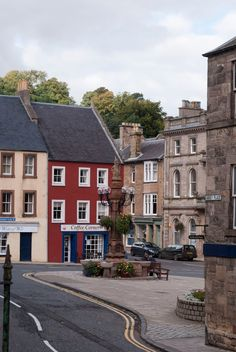 ~Jedburgh, Scotland~ Modern view of what was once the stomping grounds of the Reiver Rutherfords!
