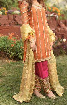 Pakistani Fancy Dresses, Pakistani Fashion Casual, Pakistani Wedding Outfits, Wedding Dresses For Girls, Pakistani Dress Design, Designer Party Dresses, Party Wear Dresses, Frock Fashion, Women's Fashion Dresses