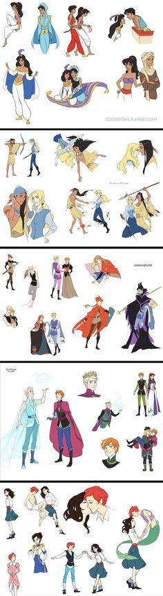Disney Genderbent: