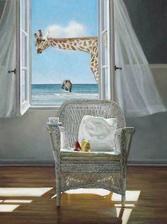 Karen Hollingsworth, 1955 | WindowScape painter | Tutt'Art@ | Pittura * Scultura * Poesia * Musica |