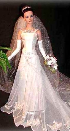 barbie wedding dresses on pinterest barbie wedding barbie wedding