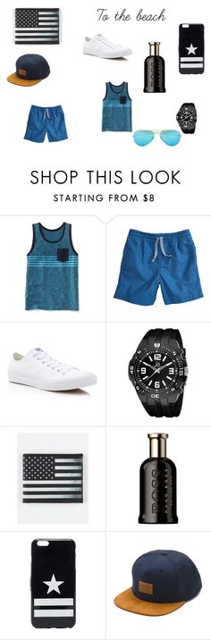 To the beach by emmapker Navy Converse, Givenchy, Sons, Ray Bans, Men's Fashion, Menswear, Beach, Polyvore, Stuff To Buy