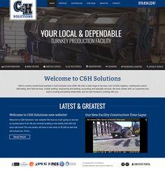 C & H Solutions Website Design and Development