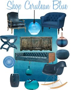 cerulean blue shades | Ideas for Heather's wedding in 2018 ...