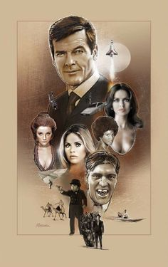 *m. Roger Moore as James Bond