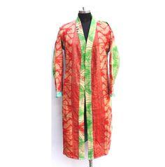 Patchwork Designs, Cotton Jacket, Vintage Jacket, Vintage Cotton, Kantha Quilt, Palazzo Pants, 15 Years, Tank Dress, Clothes For Women