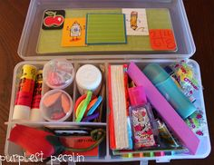 Great for at home/school organization.