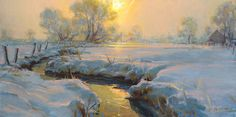 Dan Gerhartz is known for his romantic oil paintings of the land.fine art for the home, romantic paintings, original fine art, original oil paintings, art by Dan Gerhartz, home decor, landscape paintings, winter landscapes