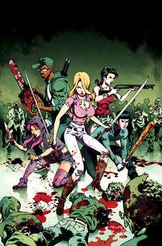 Fanboys vs. Zombies #6 Cover C by FelipeSmith.deviantart.com on @deviantART