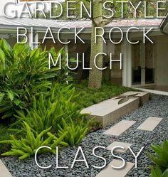 Black Even Looks Good in the Garden………