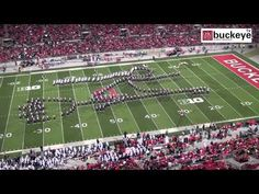 "Ohio State Marching Band ""Hollywood Blockbusters"" Themed Halftime Show vs Penn State - 10/26/13 - YouTube"