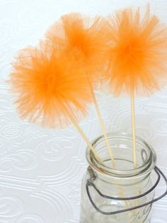 instead of tissue poms?