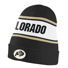 9c90e4948c115 Colorado Sideline Nike Knit Hat - Black