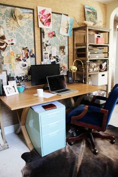 Office Makeover: Refusing to Let Go… of My Favorite Chair