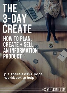 #3DayCreate: The Workbook + Challenge - by Regina [for bloggers // creative businesses // and you]