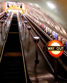 the tube, London