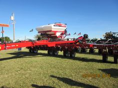 16 row White 8800 corn planter