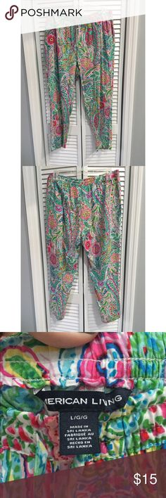 American Living Flowy Pants American Living Paisley Flowy Pants.  All prices are negotiable but please use the OFFER button in order to make me a different offer. I will do bundles just let me know what you are interested in but NO trades  American Living  Pants
