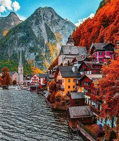 Travel Destinations, Trip, Sightseeing, Stunning Views Beautiful Places To Travel, Wonderful Places, Places Around The World, Travel Around The World, Dream Vacations, Vacation Spots, Girls Vacation, Vacation Ideas, Austria Travel