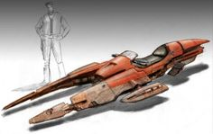ralph mcquarrie speeder bike sketches - Google Search