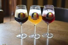 Nice overview of our Beer Styles, illustrating the wide variety in Belgian Beers.