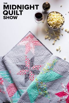 Learn the tricks and techniques behind sewing a Variable Star Quilt. Quilter, Angela Walters from The Midnight Quilt show will walk you through all the laughs, crys. and stitches that go into making this amazing quilt. #MidnightQuiltShow