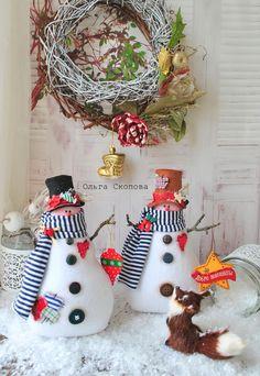 Крылатые качели. - Страница 83 - Форум Christmas Baby, Christmas Snowman, Christmas Wreaths, Christmas Crafts, Xmas, Christmas Ornaments, Felt Snowman, Diy Snowman, Snowmen