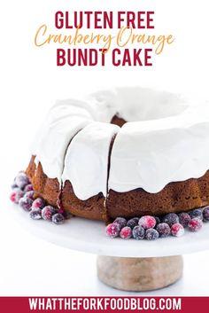 Best Dessert Recipes, Easy Desserts, Delicious Desserts, Desert Recipes, Cranberry Orange Bundt Cake Recipe, Christmas Desserts, Christmas Brunch, Christmas Recipes, Bakery Recipes