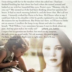 Katniss and her daughter... My heart is torn and healed at the same time