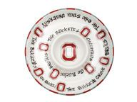 Ceramic Chip & Dip BBQ & Grilling Novelties and other Ohio State Buckeyes products at OhioStateBuckeyes.com #GoBucks