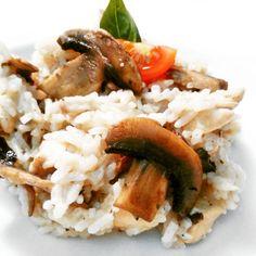 Recept: Houbové rizoto - MYPROTEIN™