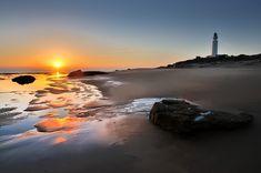 Atardecer en el Faro Trafalgar, Cádiz. Caños de Meca. #Andalusia. #Sunset