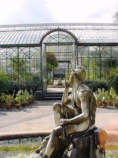 Palerme - Jardin Botanique - entrée du jardin d'hiver