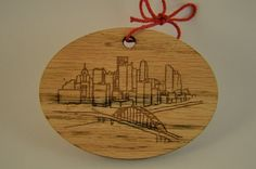 Peculiar Pittsburgh Skyline from West End by BandyWoodworks - one of 10 Pittsburgh-centric designs