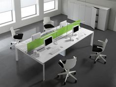 Modern Office Furniture Design Ideas, Entity Office Desks by Antonio Morello 3
