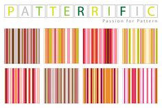 Free seamless patterns Colorful Lines